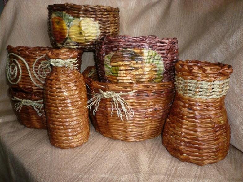 Бумага - Плетение