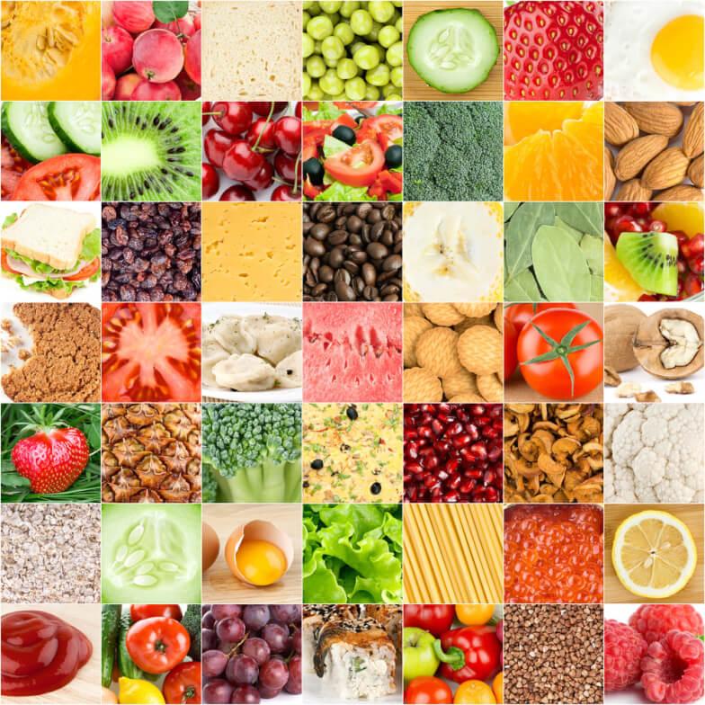 Документы для таблиц калорийности