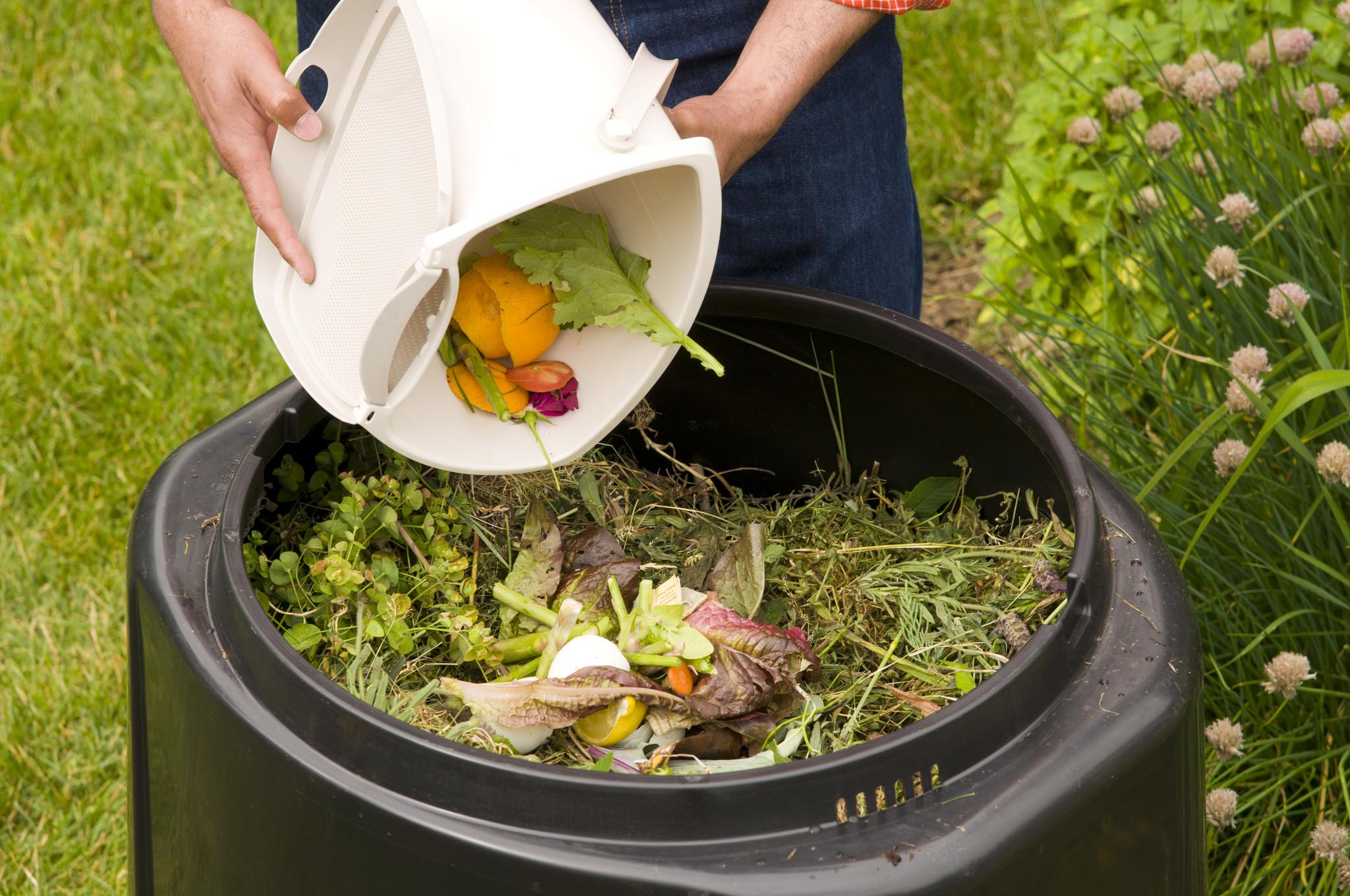 Органические удобрения - Компост