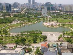 Парк в городском районе Каузяй